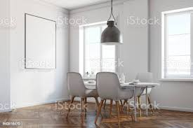 weißen esszimmer ecke holzboden poster stockfoto und mehr bilder architektur
