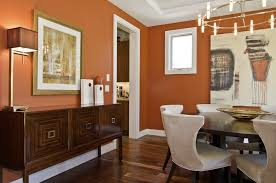 Of Course We Couldnt Talk About Fall Home Color Trends Without Mentioning A Warm Pumpkin Tone This Rich Works Perfectly In Dining Room