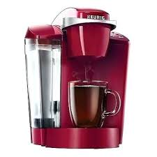 Red 4 Cup Coffee Maker