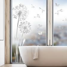pusteblume glasdekor glastür aufkleber glastattoo folie