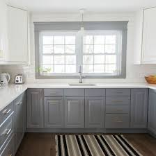 A Gray and White IKEA Kitchen Transformation
