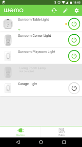 After A Minute Or So My Switch Is Now Visible In The WeMo App It Garage Light You Can Take Your Phone Out Of Airplane Mode