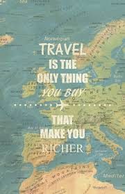 Travel Is The Only Thing You Buy That Make Richer