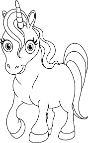 Unicorn Coloring Pages For Kids Printable