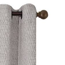 eclipse bobbi blackout pewter curtain panel 95 in length