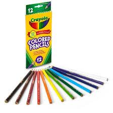 Crayola Bathtub Crayons 18 Vibrant Colors by Crayola Colored Pencils 12ct Target
