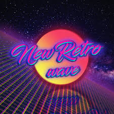 Retro Style New Wave 1980s Digital Art Neon Vintage Space Typography Wallpaper And Background