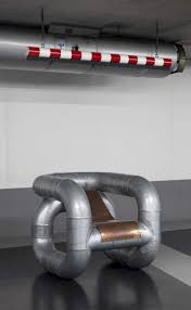 100 Munoz Studio TUBULAR Pipe Chair By Lucas Muoz