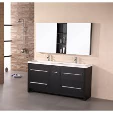 Design Element Designer?Ÿ??s Pick 63?Ÿ?? Double Bathroom Vanity ... Design Element Milan 24 Bathroom Vanity Espresso Free Shipping 78 Ldon Double Sink White Dec088 36 Single Set In Galatian 88 With Porcelain Stanton 72 W Vessel Inch Drawers On The Open Bottom Dec074sw Citrus 48inch Solid Wood W X 22 D 61 Gray Marble Hudson 34 H