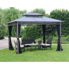 Home Depot Wood Patio Cover Kits by Home Depot Gazebo Canopy Replacement 10 X 12 Wood Kit Kits 4943