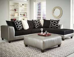 Grey Corduroy Sectional Sofa by 4501 Sectional Sofa In Black Corduroy Fabric U0026 Pewter Bi Cast