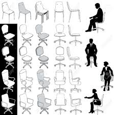Type Of Chairs For Office by Collection Of 5 Types Of Business Office Chairs For Architecture