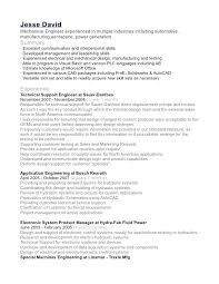 Experienced Engineer Resume Sample Format For Mechanical Software Doc
