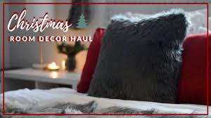 Christmas Room Decor Haul