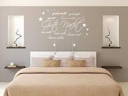 dekoration wandtattoo wandsticker schlafzimmer wortwolke