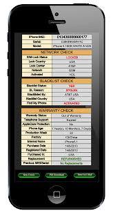 Check iPhone Unlock Status Quickly IMEI Index
