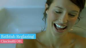 Bathtub Resurfacing Austin Tx by Bathtub Reglazing Cincinnati Oh Fitzgeralds Youtube