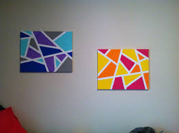 Decent Along With Easy Diy Canvas Wall Art Ideas Painting Janefargo In