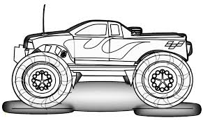 100 Monster Truck Coloring Book Pages Of S Free Printable