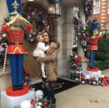 Most Decorated Soldier Uk by Tamara Ecclestone Transforms Her Mansion Into An Opulent Winter