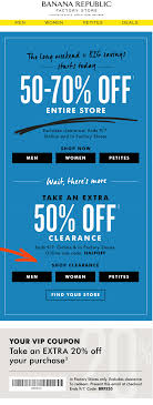Pinned September 5th: 50-70% Off Everything & More At Banana ... Sales Tax Holiday Coupons Bana Republic Factory Outlet 10 Off Republic Outlet Canada Coupon 100 Pregnancy Test Shop For Contemporary Clothing Women Men Money Saver Up To 70 Fox2nowcom Code Bogo Entire Site 20 Off Party City Couons 50 Coupons Promo Discount Codes Gap Factory Email Sign Up Online Sale Banarepublicfactory Hashtag On Twitter Extra 15 The Krazy Free Shipping Codes October Cheap Hotels In Denton Tx