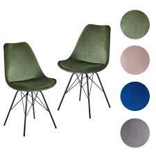 finebuy esszimmerstuhl 2er set samt küchenstuhl mit schwarzen beinen schalenstuhl skandinavisches design polsterstuhl mit stoffbezug stuhl