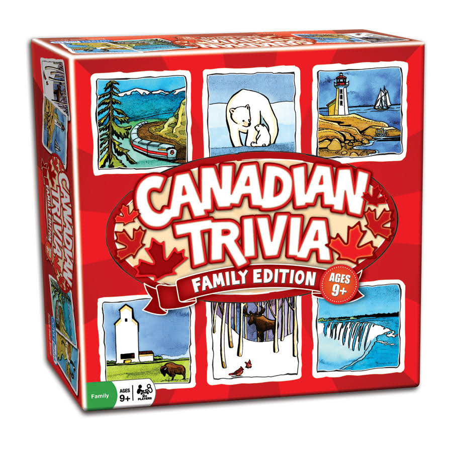 Outset Media Canadian Trivia Family Edition