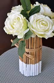 DIY Romantic Bamboo Table Centerpiece