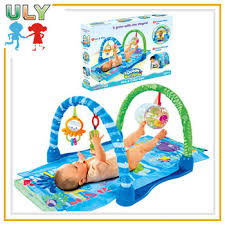 Hot seller baby play gym mat infanto baby care play mat ocean