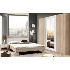 chambre comtemporaine helen chambre adulte complète style contemporain décor chêne