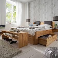 schlafzimmermöbel set aus kernbuche massivholz bettbank 2 teilig
