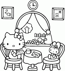 Coloring Pages Free Printable Hello Kitty For Kids And