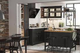 küche mit schwarz lasierten fronten ikea bild 4