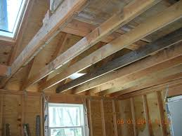 Floor Joist Span Table For Sheds by How To Reinforce 2x6 Ceiling Joists To Handle Heavy Loads Fine