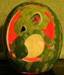 Pokemon Pumpkin Patterns by Cubone Watermelon Light By Johwee On Deviantart