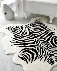 apartments stunning bathroom accessories with zebra print rug