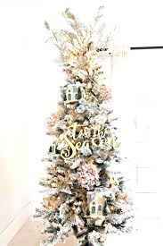 Pre Lit Pencil Christmas Tree Flocked How To Trim Out A With Pink