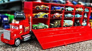 Cars Mack Truck And Lightning Mcqueen Play Car Toy Videos For Kids ... Blue Dinoco Mack The Truck Disney Cars Lightning Mcqueen Spiderman Cake Transporter Playset Color Change New Hauler Car Wash Pixar 3 With Mcqueen Trailer Holds 2 Truck In Sutton Ldon Gumtree Lego Bauanleitung Auto Beste Mega Bloks And Launching 95 Ebay Toys Hd Wallpaper Background Images Remote Control Dan The Fan Cone