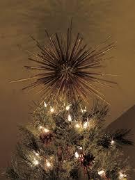 Seashell Christmas Tree Topper by Christmas Tree Topper Star Starburst Custom Handmade Retro Modern