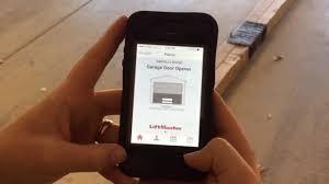 Garage door opener app LiftMaster MyQ