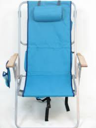 Rio Gear Backpack Chair Blue by 5 Position Lay Flat Backpack Chair With Cooler By Rio Brands