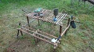 Bushcraft Table Chair Stool And Bed Frames Download