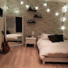 Bed Bedroom Guitar Lights Room Tumblr Emra Zukic