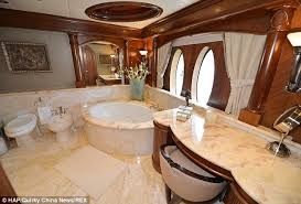 luxury private jet bathrooms