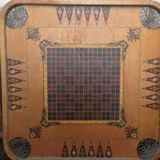 Antique Vintage Carrom Crokinole Deluxe Combination Game Board