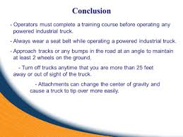 Forklift Operator Safety - Ppt Video Online Download Forklift Operator Safety Ppt Video Online Download Carpenters Traing Fund Of Louisiana Powered Industrial Truck Program Environmental Health And Or Video Youtube Onsite For Only 89 Per Person Occupational And Man Operates A Cargo Loader Controls Lift Truck Fork Truckforklift Online Course Outline Pedestrian Lightswhat Bright Idea
