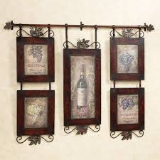 Kitchen Awesome Rustic Country Kitchen Wall Decor With Brown