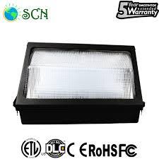 etl dlc 90watt led wall pack light 5000k