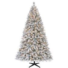 Christmas Trees Prelit by Ty Pennington Style S P121265a 7 5 Ft Clear Pre Lit White