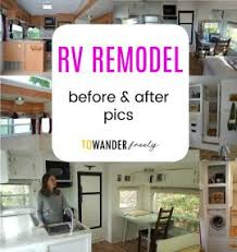 Rv Remodel Before And After Pics